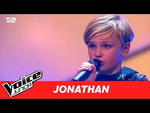 "Jonathan | ""Deja Vu"" af Scarlet Pleasure | Semifinale | Voice Junior 2017"