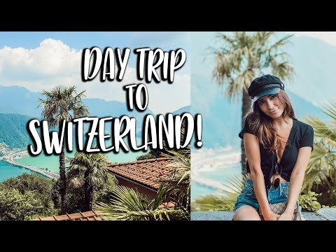A DAY TRIP TO SWITZERLAND!!! Travel vlogs!