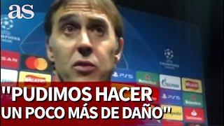 Chelsea 0-Sevilla 0 | Rueda de prensa de Lopetegui | Diario AS