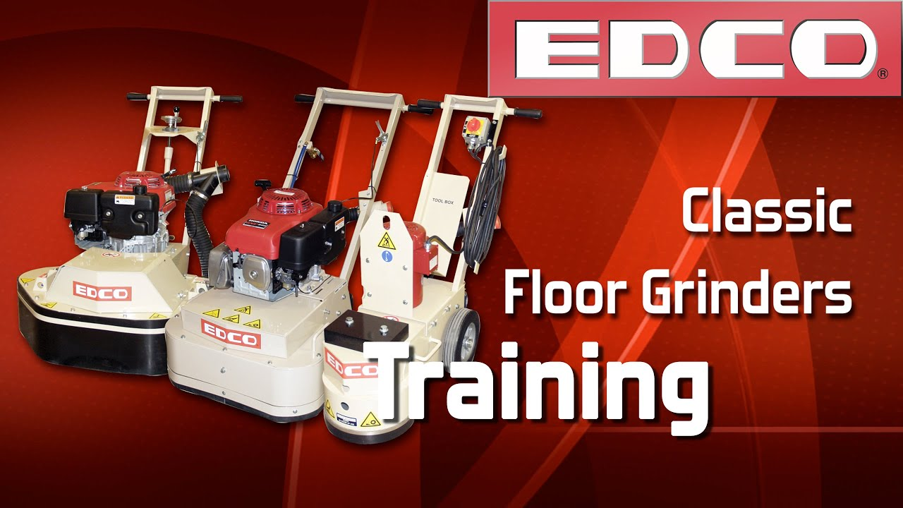 Training: How to Use Classic Concrete Floor Grinders - EDCO