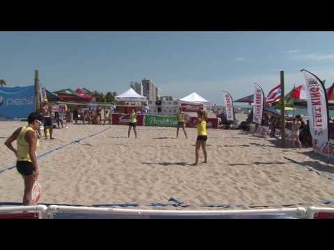 Womens Open Doubles Finals - BEACH TENNIS IFBT USA - 2013 Frank Congemi Beach Tennis World Cup