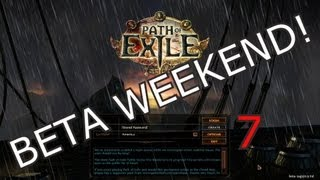 Path of Exile Beta Weekend 7 - Spelunking in the Dark