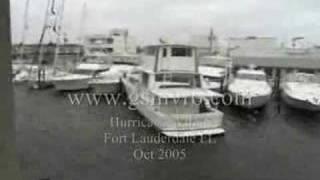 Yachts Crashing Hurricane Wilma Part 5 of 8
