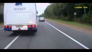 Бешеный водитель автобуса ...