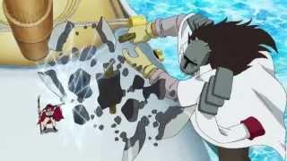 Whitebeard vs Vizeadmiral Lons [One Piece] [Ger Sub]
