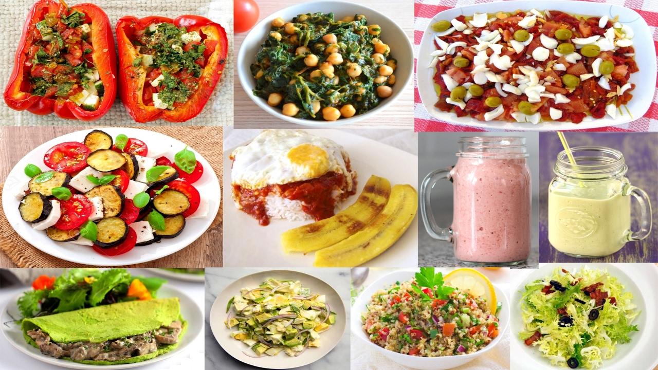 10 recetas de cenas f ciles r pidas con pocas calorias for Cenas faciles y economicas