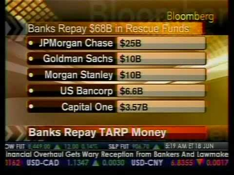 Banks Repay TARP Money - Bloomberg