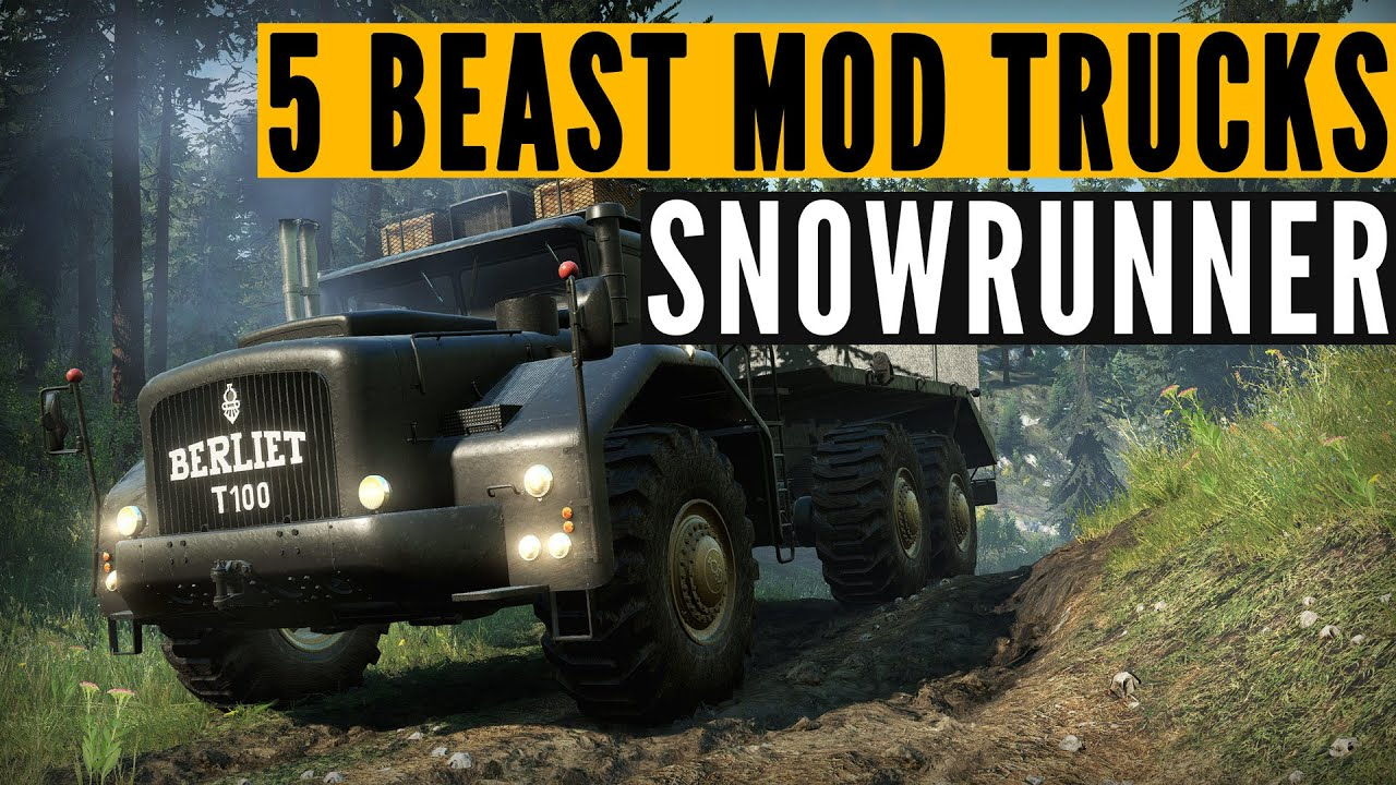 SnowRunner Top 5 BEST mods: BIG & OP edition