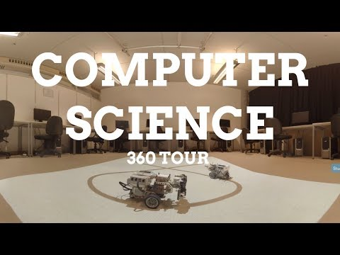 Computer Science 360 facilities tour