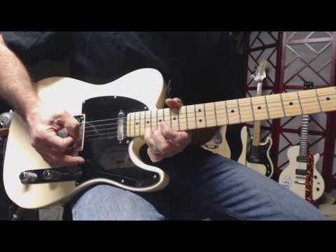 Doo Doo Doo Doo Doo (Heartbreaker) - Rolling Stones (guitar cover - open G)