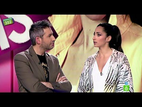 Entrevista a Alba Flores en 'Zapeando':
