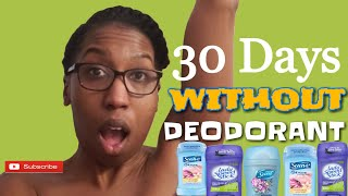 DEODORANT IS A SCAM! WHY I STOPPED BUYING & WEARING REGULAR DEODORANT #NoDeodorant Tieesha Essex