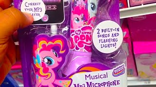 "MY LITTLE PONY ""Musical MP3 Microphone"" [Rainbow Power] 2 Songs & Flashing Lights PRODUCT REVIEW"