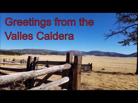 Hiking to the Longmire Cabin at Valles Caldera