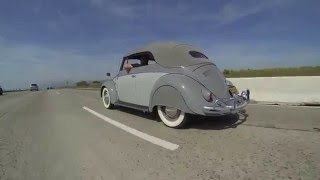 Classic VW BuGs Presents Rare Vintage Air Freeway Cruise Cali Beetle Festival