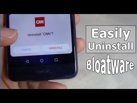 Android Bloatware Removal
