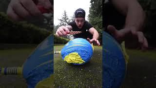 Воздушные шары со льдом 25 слоев