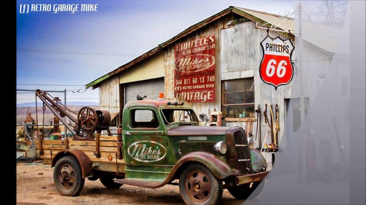 Retro Garage Mike Youtube