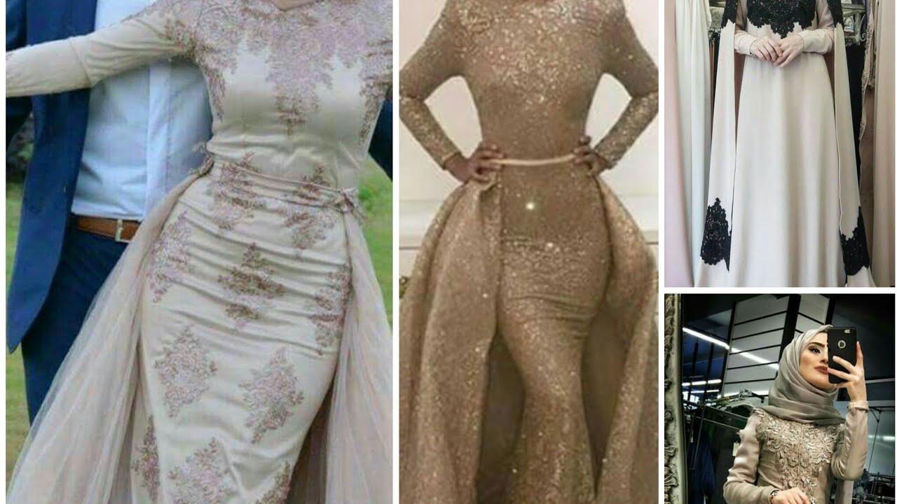 bf4c3fc5c فساتين سهرة للمحجبات سمبل سواريه الجزء الثانىpart 2 simple hijab fashion evening  dresses