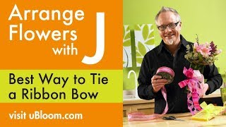 Repeat youtube video How to Arrange Flowers: Tie a Bow!