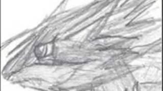 MoonWerewolfAir Drawing Contest Entry : The Dark Flame Hound! ( Wolf)