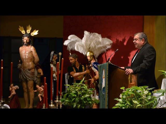 LA LINEA COFRADE. V PREGÓN A JESÚS DE LA FLAGELACION