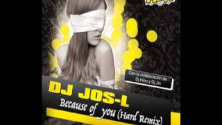 Dj Jos-L- Because of you. RLK music.wmv
