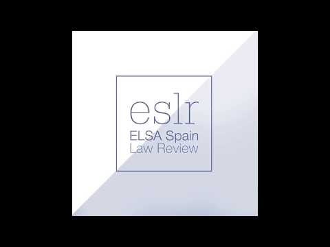 ELSA Spain Law Review | Editorial Policy