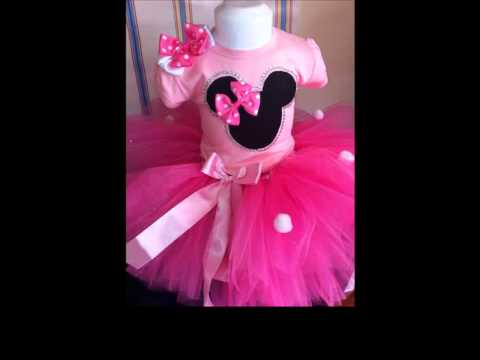 Minnie Mouse Dress Birthday Outfits By Pekekids Vestidos