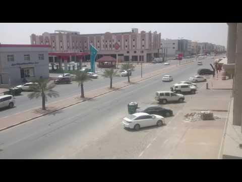 Dammam Civil Defence Siren Test (2. Wavy Tone) - 10th May 2018