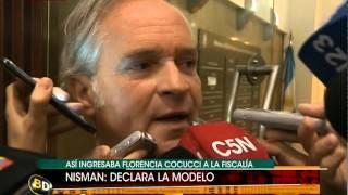 Florencia Cocucci entró a declarar: habla su abogado - Telefe Noticias