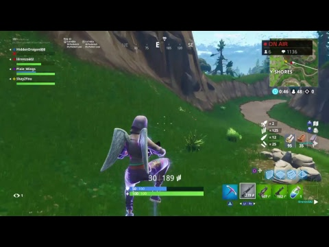 Yeah baby! FORTNITE LIVE PIXIE WINGS **Road to 1500 subs!**