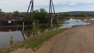 Канск, поднимается вода в реке кан