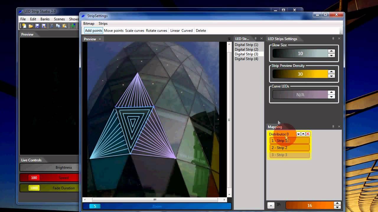 LED Strip Studio - LSS 2 Software Tutorial - Part 1