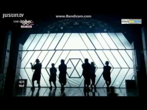 130531 EXO -  Wolf @ Music Bank