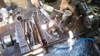 самодельный токарный от металлолома до готового применения