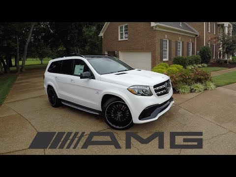 The 2018 Mercedes Benz GLS63 AMG is a $130K BEAST!