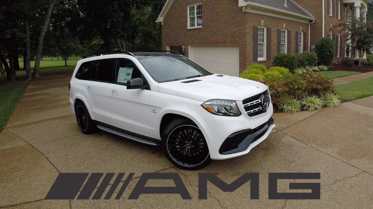 The 2018 Mercedes Benz GLS63 AMG is a $130K BEAST! - YouTube