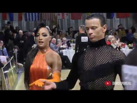 Artyom Liaskovsky - Ksenia Zaputriaeva ISR, Pasodoble / Antwerp Diamond DanceSport Cup 2020