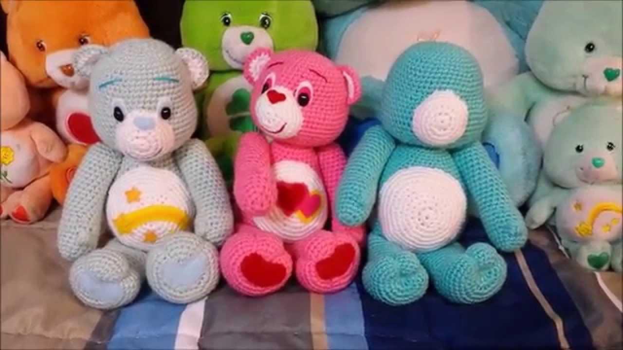 Amigurumi crochet Care Bear tutorial part 4 - YouTube