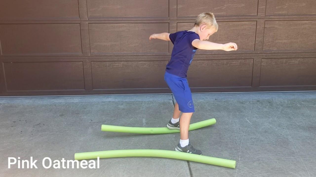 Pool Noodle Balance