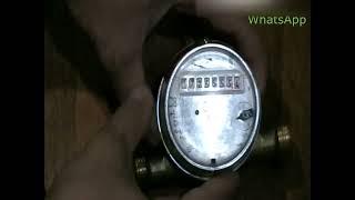 Как остановить водяной счетчик СВК-15. Модификация под мелкий магнит.