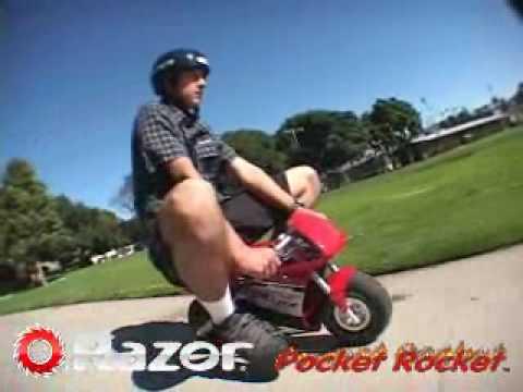 Razor Pocket Rocket Youtube