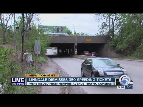Traffic camera cases dismissed in Linndale - YouTube