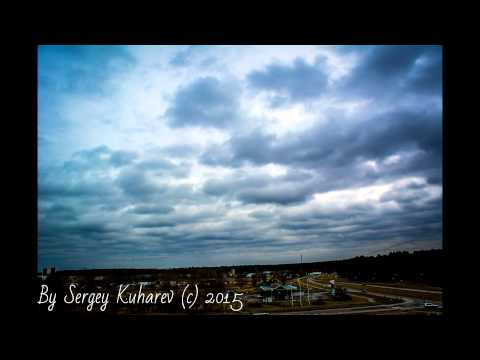 Timelapse - Cloudy weather in Riga - Latvia 24fps