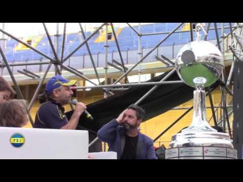 Marquitos Di Palma en ExpoBoca: la mujer y el fútbol