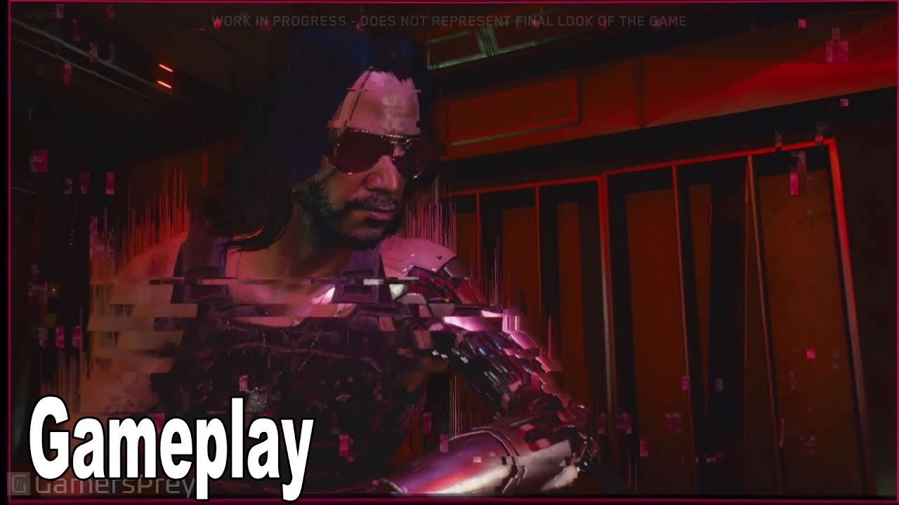 Cyberpunk 2077 - Gameplay Demo Walkthrough (2019) [HD 1080P]