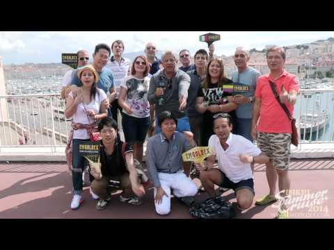 EmGoldex Crucero de Verano 2014  Líderes en Marsella ¡Viva México!