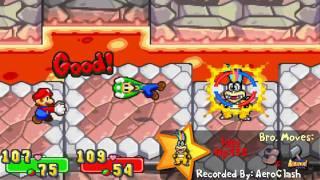 Mario & Luigi: SuperStar Saga - Boss 18 (Iggy Koopa)