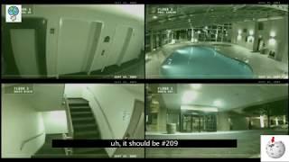 CAMERA KHÁCH SẠN QUAY ĐƯỢC BÓNG MA ĐANG GÀO THÉT - Ghost screaming in haunted hotel
